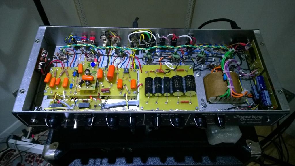 new 100w Dumble Bluesmaster rig finished - Gearslutz