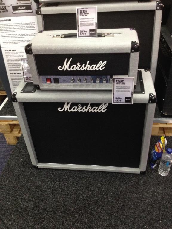 Marshall 2525H Mini Jubilee & 1936V Cabinet - Gearslutz Pro Audio ...