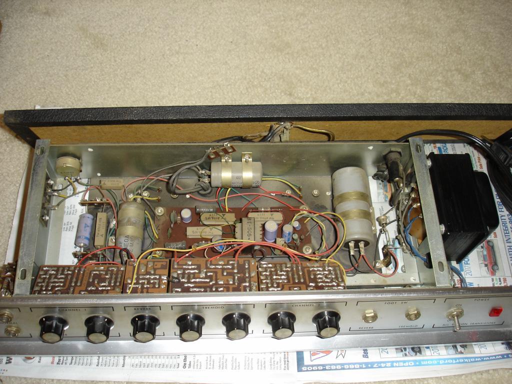 Lafayetteunivox What Is This Amp Head Gearslutz Univox Electric Guitar Wiring Schematics