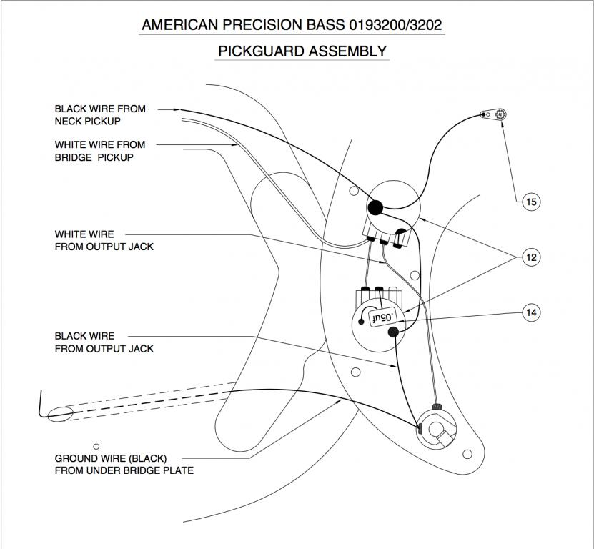 Precision B wiring variations and capacitor value - Gearslutz on tele super switch diagram, grease bucket wiring strat mods, grease bucket wiring strat guitar, how a bullet works diagram, bass cut diagram,