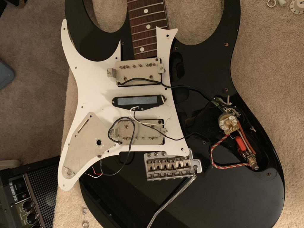 Wiring Diagram and help for Ibanez RT with pictures - Gearz on