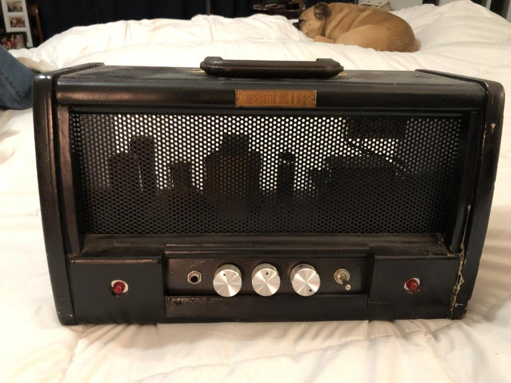 Help me identify this homemade amp
