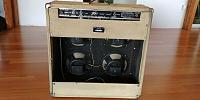 Tweed Peavey Classic 100 Series 4x10 - Spray Painted Black-20200715_161917.jpg