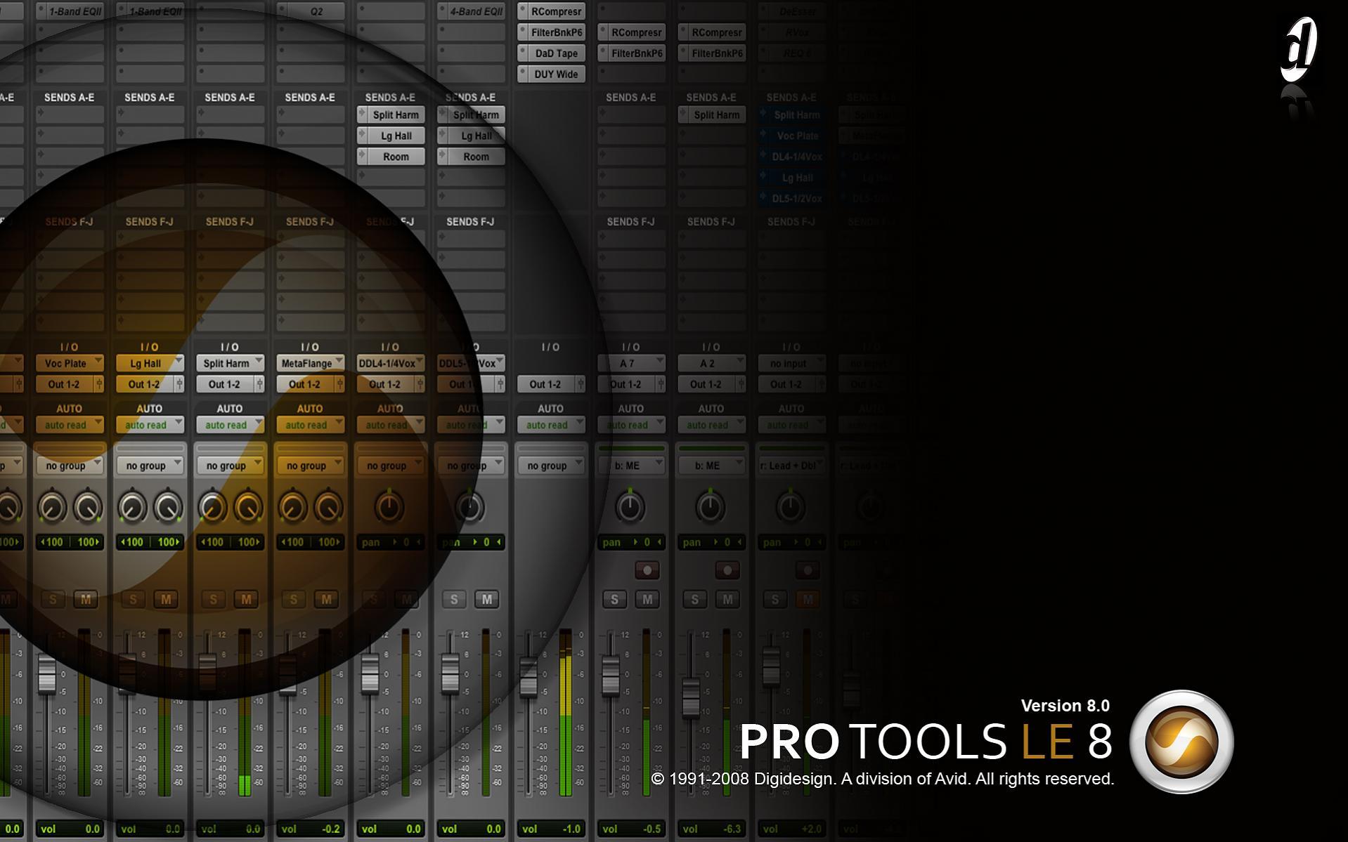 Digidesign pro tools le 7 1 mp toolkit air