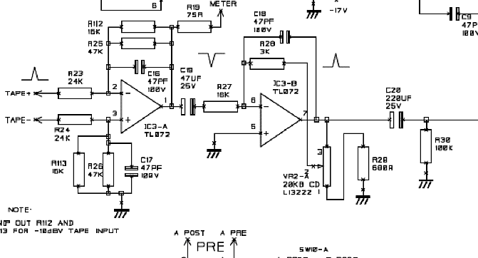 any tips on the ad797 op amp in a mixing desk  tape