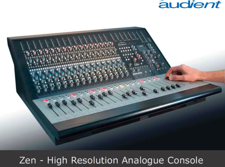 audient zen high resolution analogue console gearslutz pro audio community. Black Bedroom Furniture Sets. Home Design Ideas