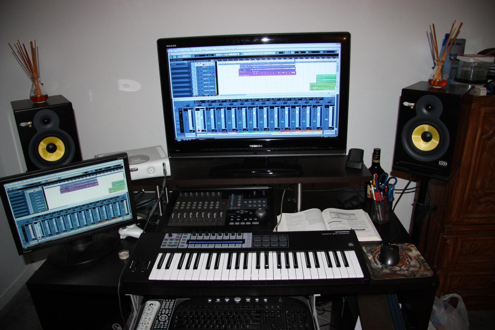 Small Home Recording Studio