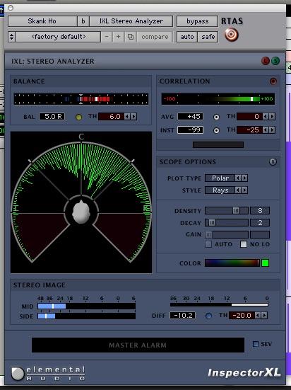 Studio Phase Meter : Ssl j phase meter gearslutz pro audio community