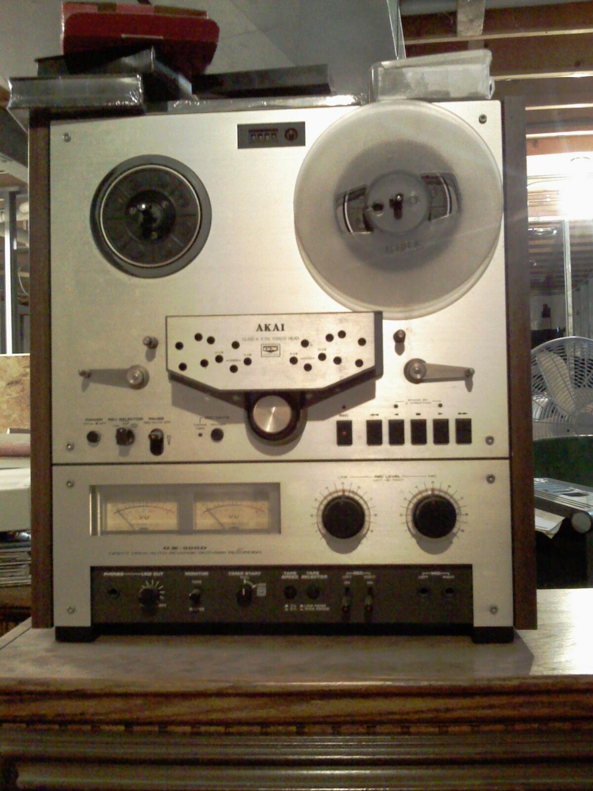 vintage akai reel to reel   gearslutz pro audio community