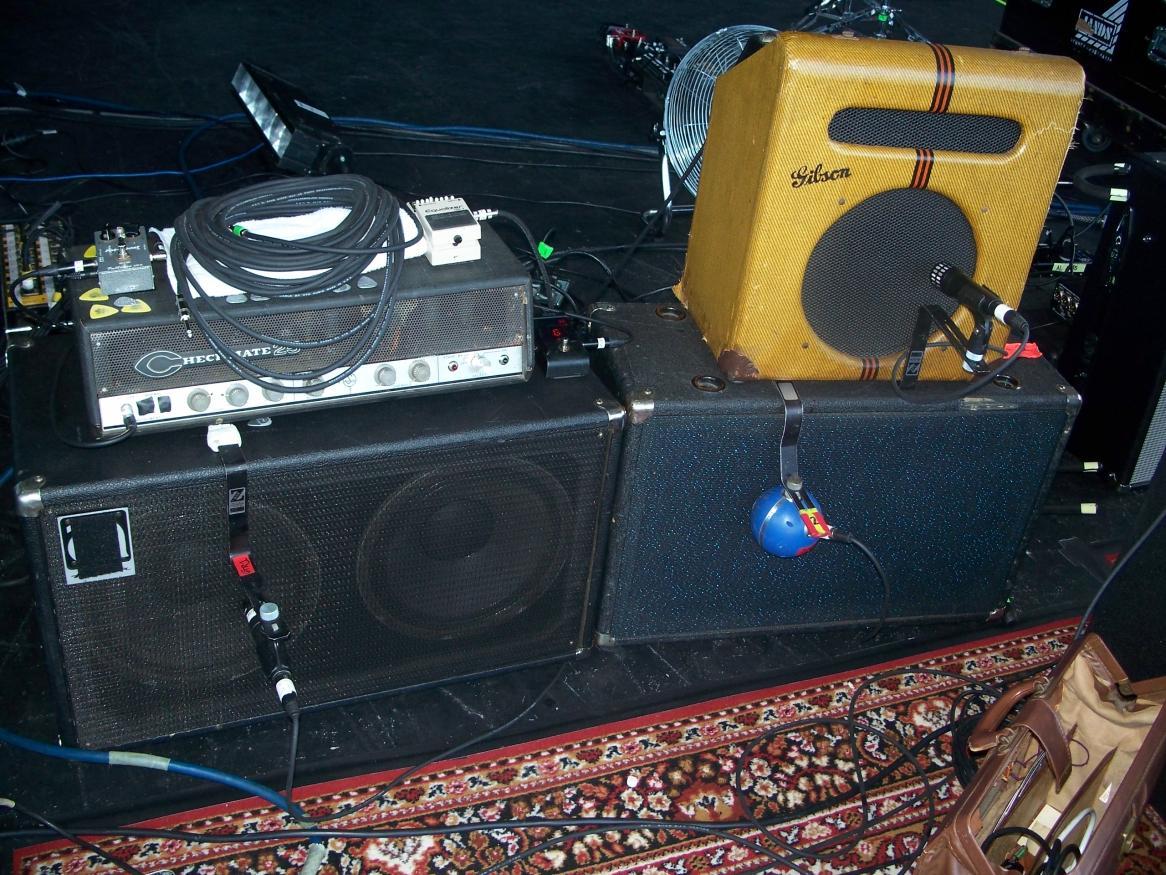josh homme 39 s gibson eh 185 equipboard. Black Bedroom Furniture Sets. Home Design Ideas