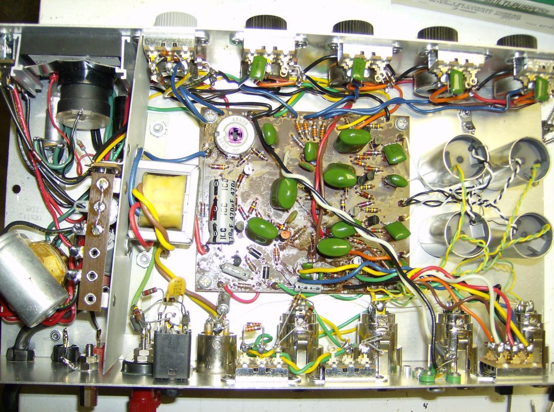Bespoke Mic Preamp based on Akai/Roberts circuit | Preservation Sound
