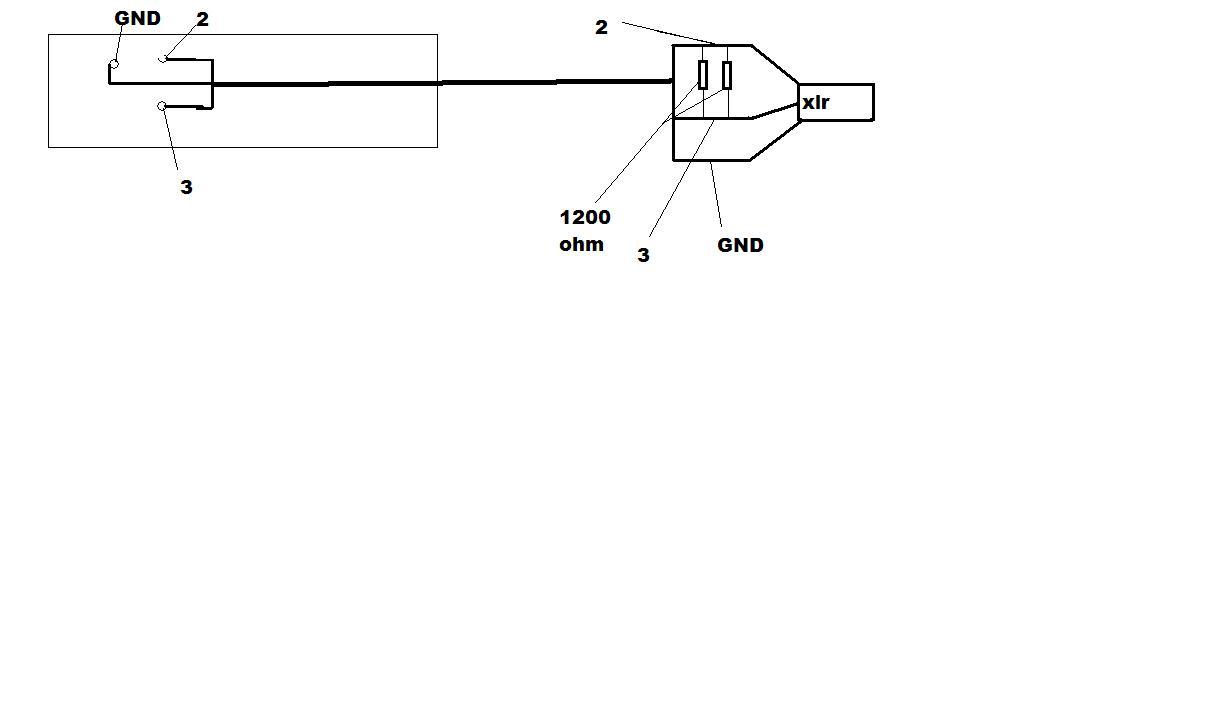 Shure M67 Mic Mixer Question Gearslutz Carbon Microphone Circuit Diagram