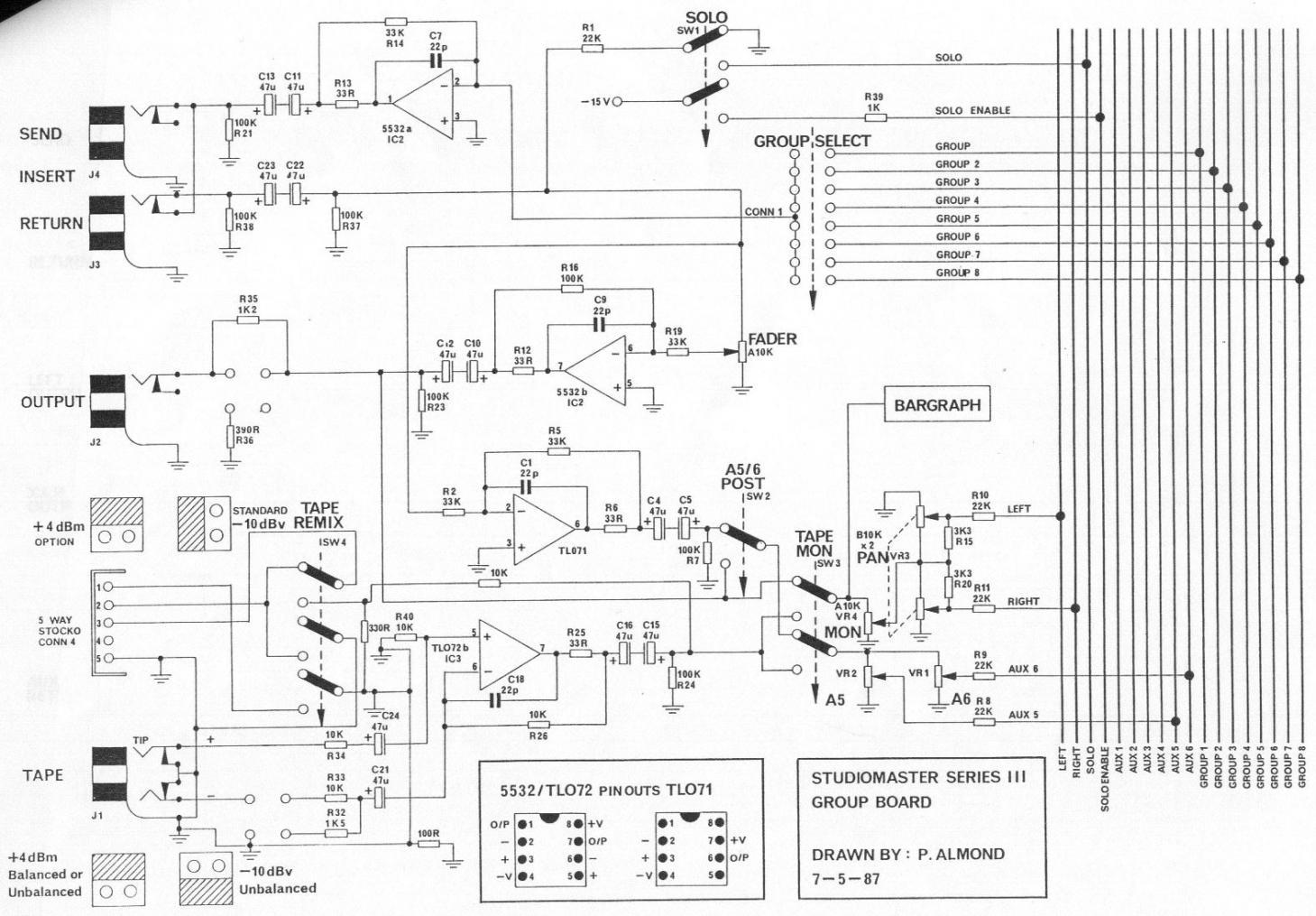 80 u0026 39 s studiomaster console