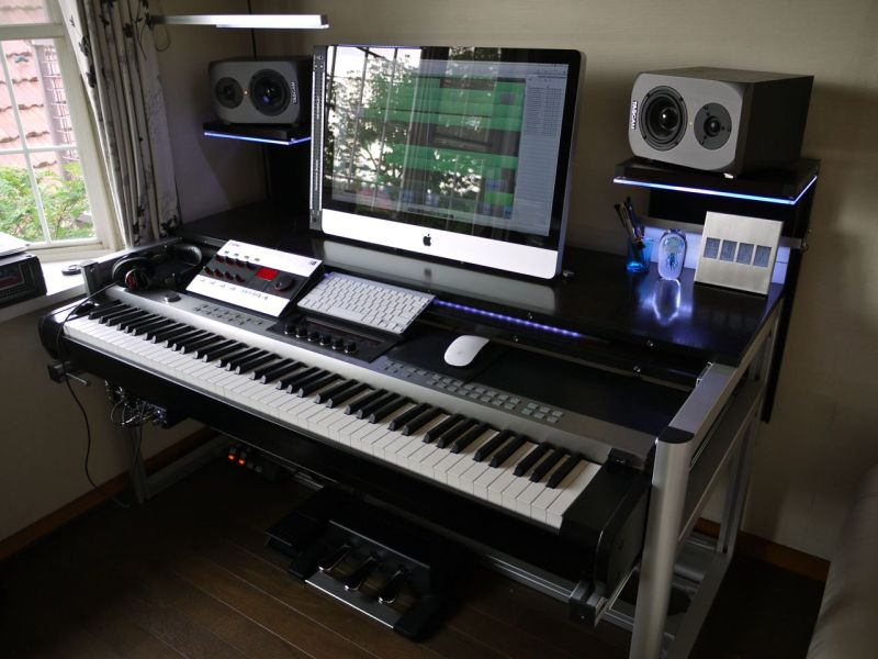 Show me your homemade or custom made console or studio furniture-NO