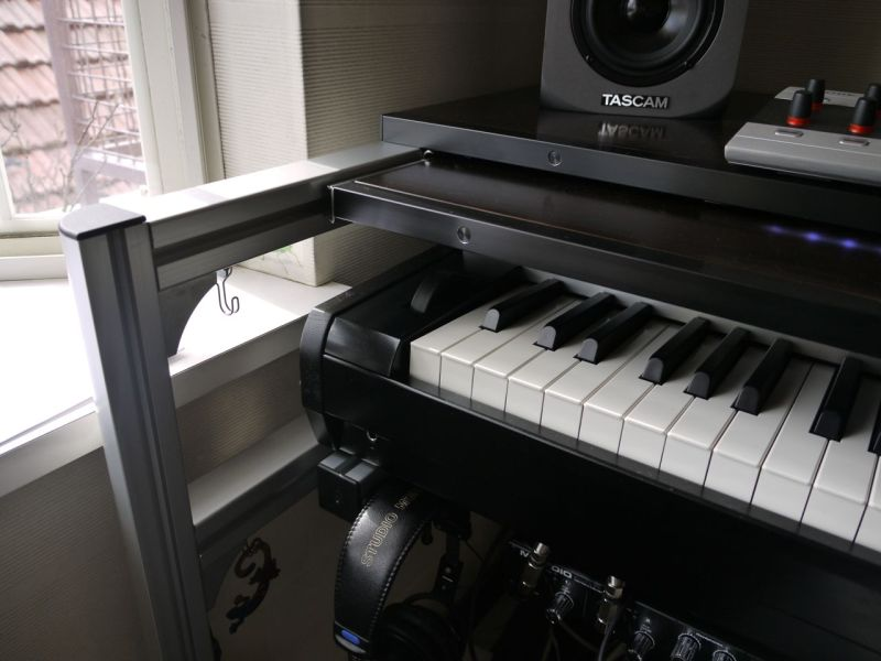 Diy Studio Desk Keyboard Workstation Under 100 Gearslutz
