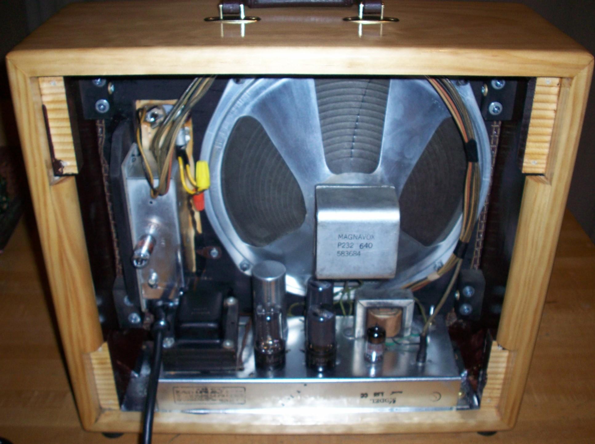 tube radios converted into guitar amps gearslutz pro audio community. Black Bedroom Furniture Sets. Home Design Ideas