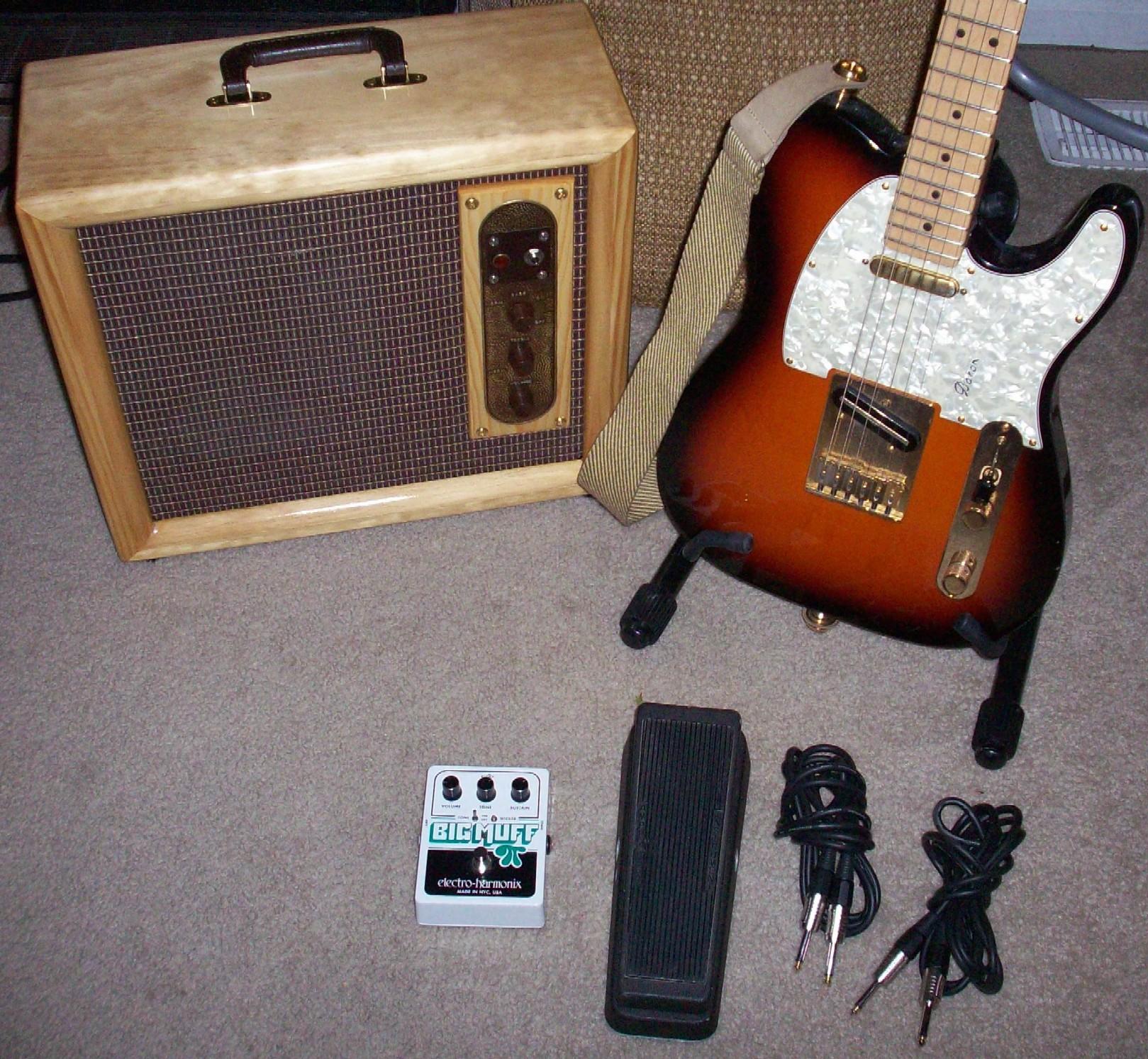 Tube Radios Converted Into Guitar Amps Gearslutz Com