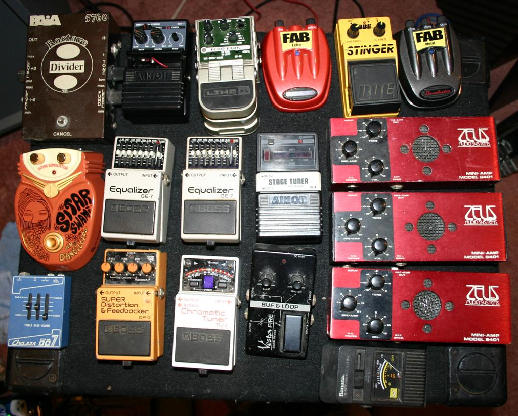 Ross Guitar Pedals Show Off Your Guitar Pedal