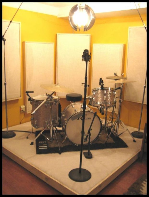 Drum Risers In The Recording Studio Opinions