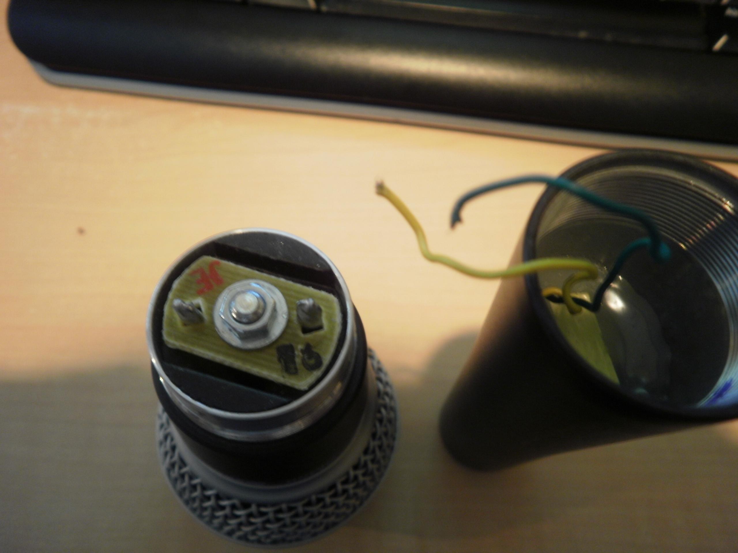 shure sm58 wiring green yellow shure image wiring i need help repairing an sm58 gearslutz pro audio community on shure sm58 wiring green yellow