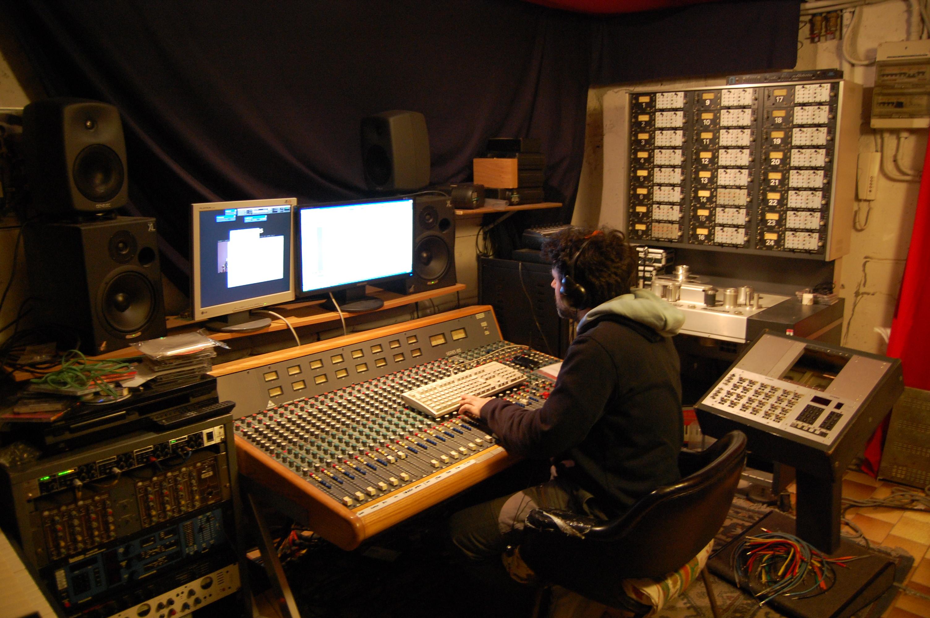 Small home recording studio joy studio design gallery for Small recording studio plans
