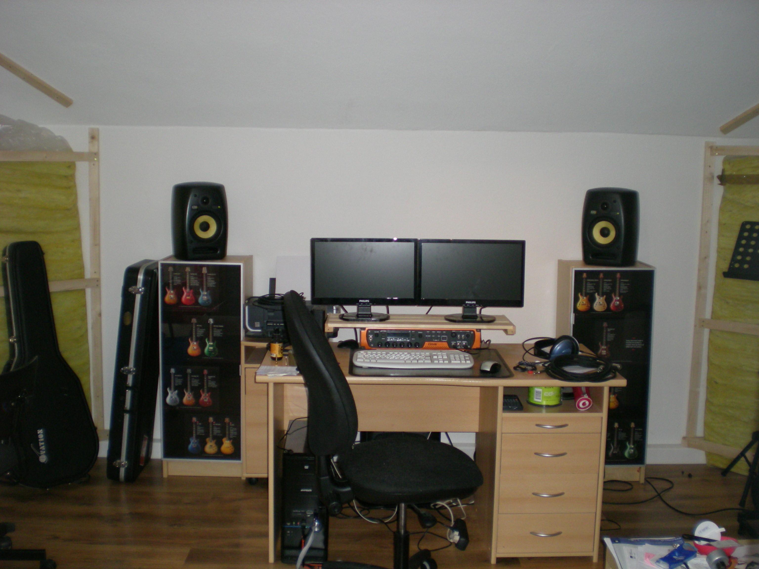 Studio Monitor Stand Desk Mount Solution Gearslutz Com