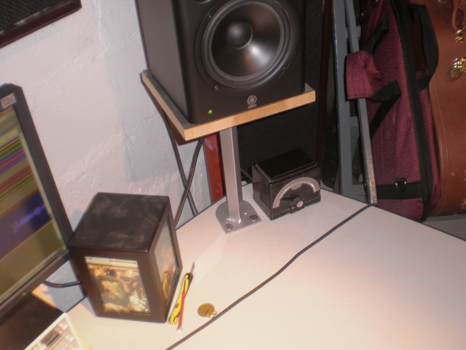Studio monitor standdesk mount solution Gearslutz Pro Audio