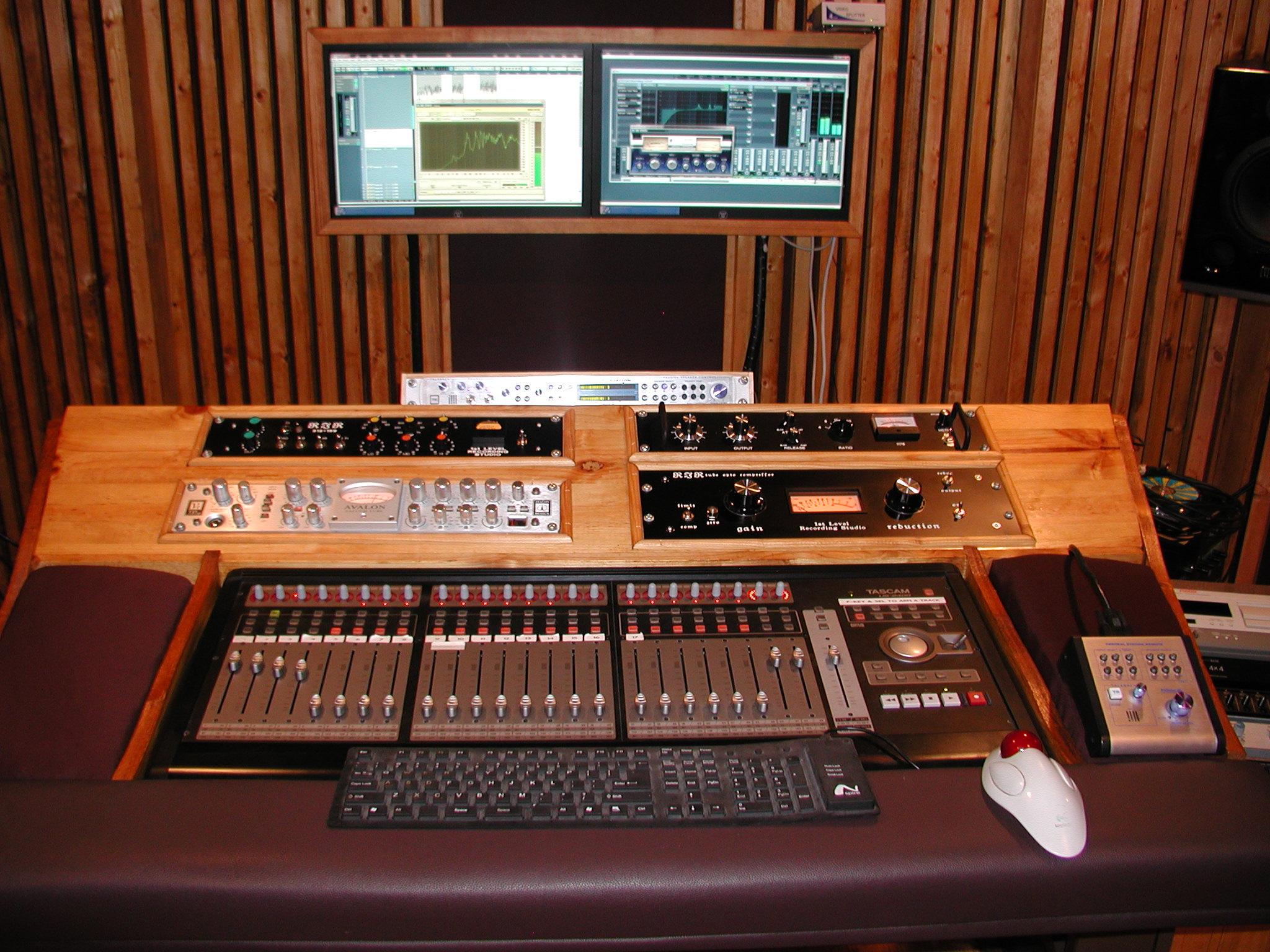 Image result for presonus 16 4 2 diy recording desk