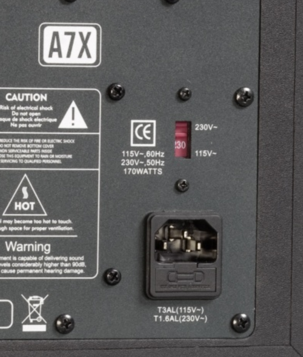 Adam A7x Dead. Won't Power On. Fuse Replacement? Help
