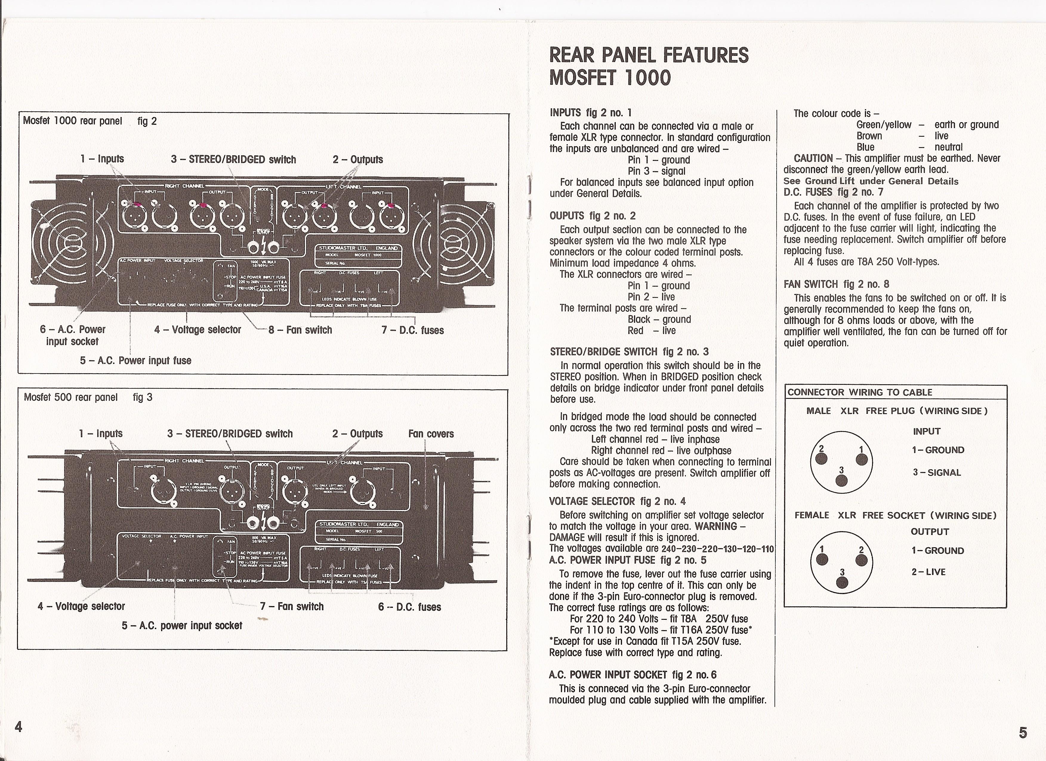 Studiomaster power amplifier - Gearslutz Pro Audio Community