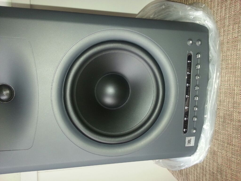 how can i clean the front of my jbl lsr4328p speakers ...