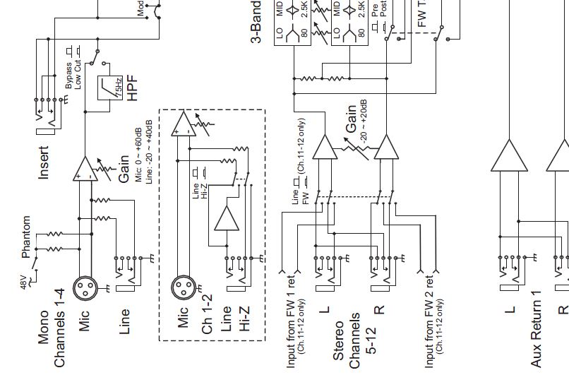Mackie Wiring Diagrams - Wiring Diagram Review on