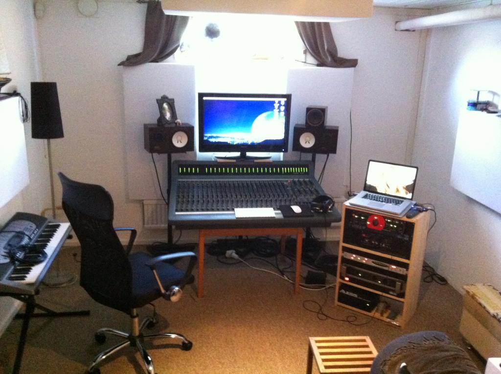 mini home recording studio setup the