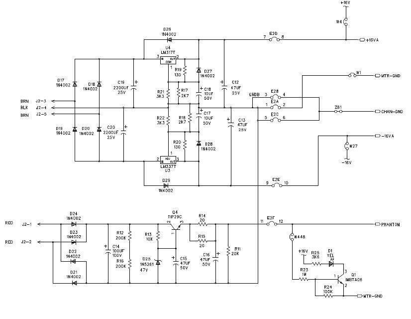 how repairable are mackie mixers   gearslutz pro audio International School Bus Wiring Schematics