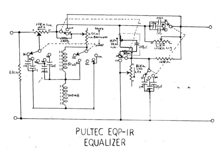 pultec equalizer schematic
