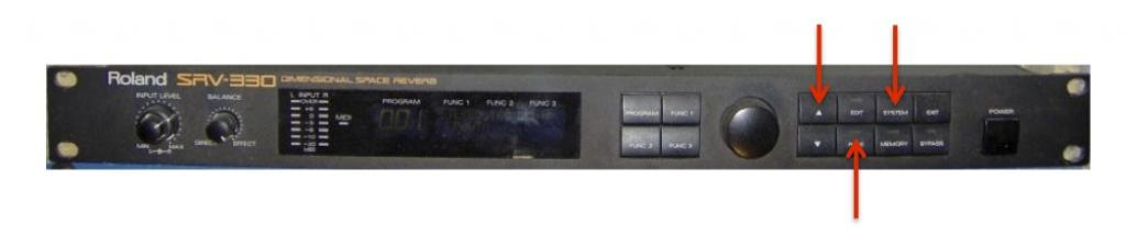 secret key combination to turn a roland srv 330 in a sde 330 page rh gearslutz com roland sde 330 service manual Roland BA-330