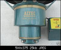 Vintage Altec 604c speakers-top.jpg