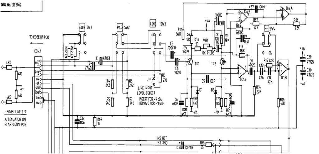 Help Putting Input Transformer In Soundcraft 500 Series