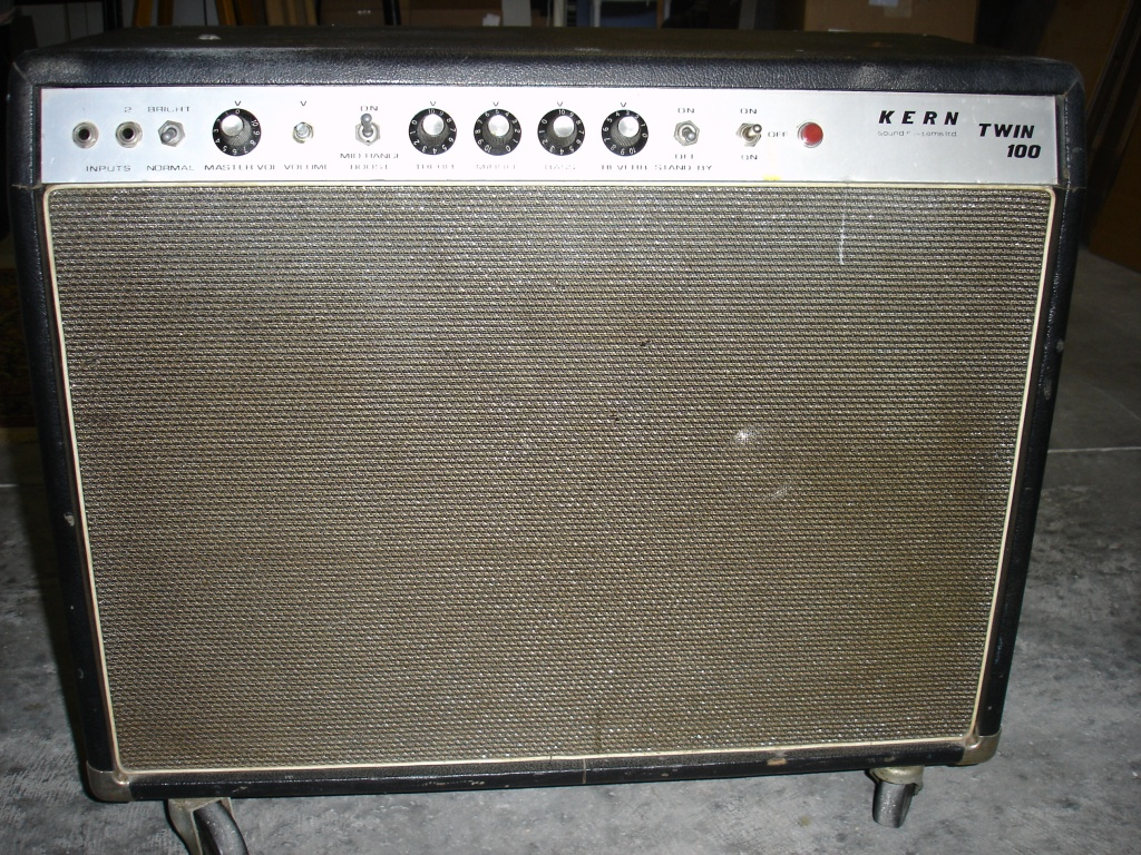 vintage kern guitar tube amp twin 100 gearslutz pro audio community. Black Bedroom Furniture Sets. Home Design Ideas
