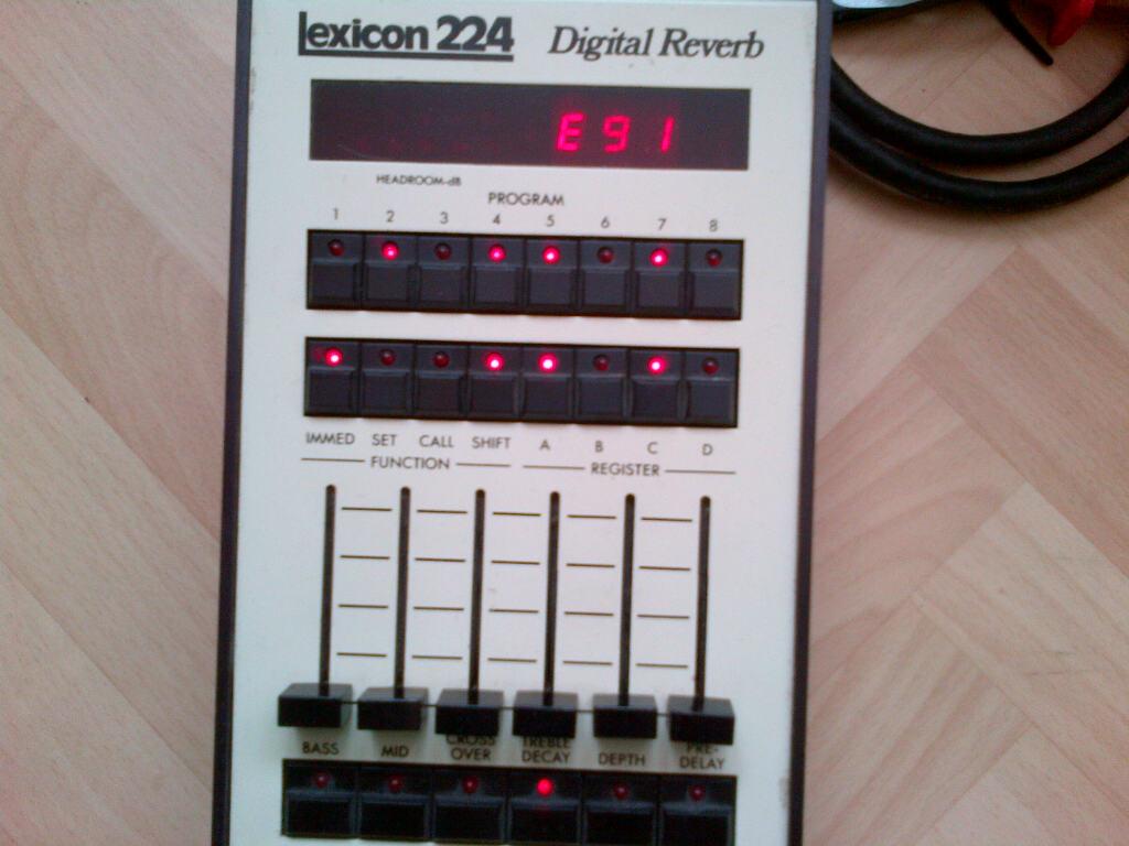 Lexicon 224 problem (errors E34 and E91) - Gearslutz
