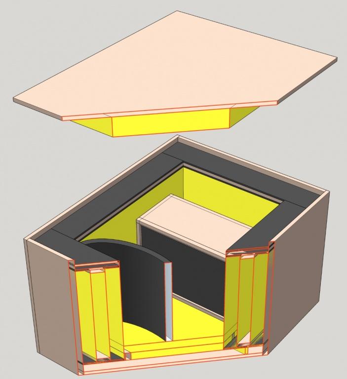 My guitar cabinet isolation box design, any good? - Gearslutz