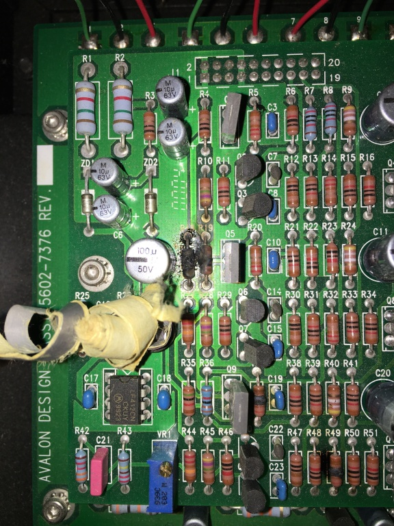 Circuit Board Capacitor