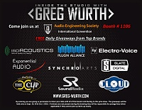 Greg Wurth Audio at Booth #1106 Demos & FREE Giveaways!-its-giveaway-aes-flyer_final.jpg