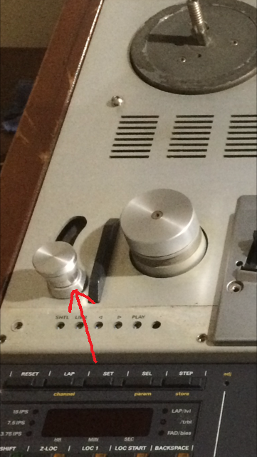 Help with Studer A807: power on, forward and rewind but not play