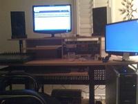 studio rta producer desk monitors are way to