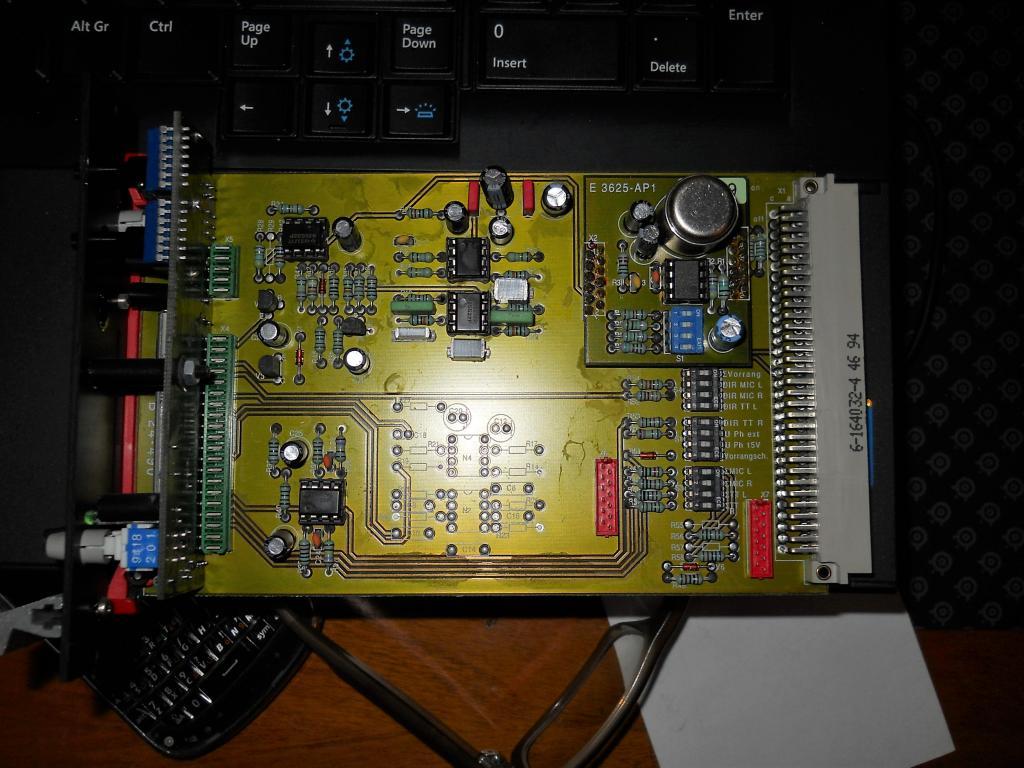 Circa 80 90s Beyerdynamic Zentrale Pa Ela Mixer Rack Gearslutz Interface Hookup Pro Audio Community Dscn2455