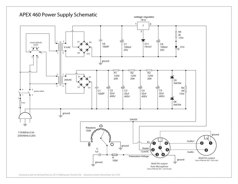 Avantone Cv-12 Power Supply Problem