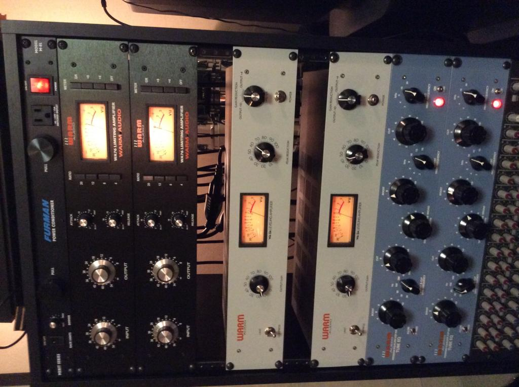 Entirely Warm Audio vocal chain? Are you happy with it