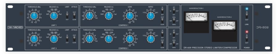 DIYRE DR-609 announced, a partial kit for making Neve-style 33609