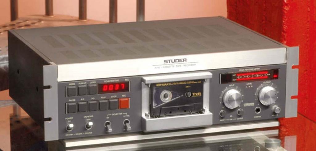 Which tape deck for recording? - Gearslutz